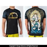 Manto Go In Peace Short Sleeve Grappling Rashguard